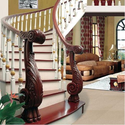 120平米客厅欧式旋转 楼梯 装修效果图 齐装网装