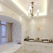 唯美浴室设计整体图