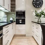 单身公寓现代厨房设计图