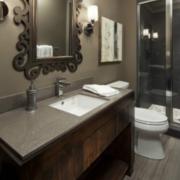 卫生间设计装修背景墙图