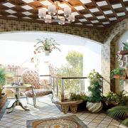 现代入户花园背景墙图