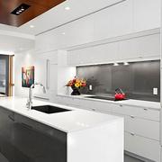 开放式厨房整体图
