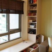 客厅柜子装修窗帘图