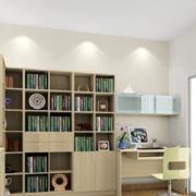 现代书房内部设计