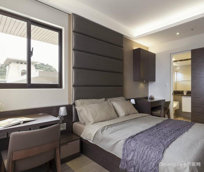 50平米北欧风格简约卧室装修效果图