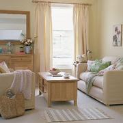 现代客厅窗帘设计