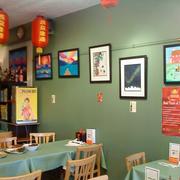 餐厅背景墙整体图