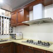 开放式厨房装修设计背景墙图