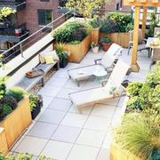 露台花园设计整体图