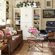 完美的客厅书柜设计