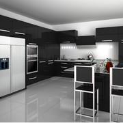 厨房整体橱柜吊顶图