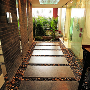 入户花园地板图设计