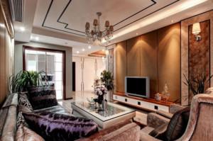 令人羡慕的120平米欧式客厅装修效果图