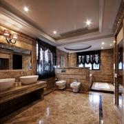 中式风格卫生间装修唯美图