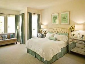 经典的卧室整体图