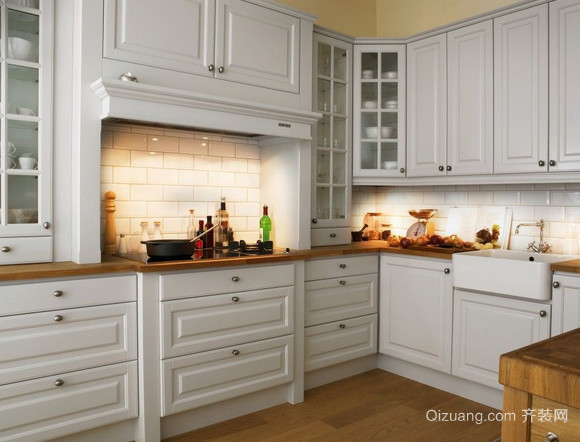 2015让人向往的欧派厨房橱柜装修效果图