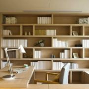 唯美书房设计图