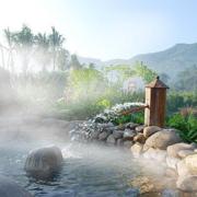 现代温泉设计图