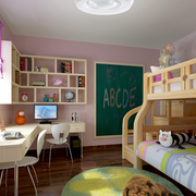 儿童房设计吊顶图