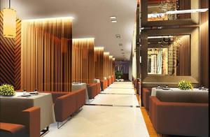 2015令人舒心的都市小户型特色饭店装修效果图