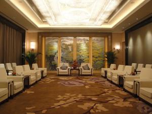2015豪华五星级酒店壁画装修效果图