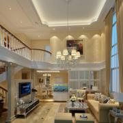 跃层客厅装修灯光设计
