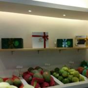 水果店背景墙图
