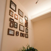 室内照片墙设计背景墙图