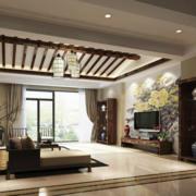 客厅吊顶整体设计