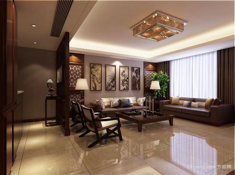 90平米欧式古典美客厅装修效果图大全