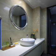 卫生间台盆柜装修效果图