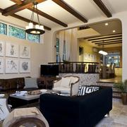 现代客厅精致图