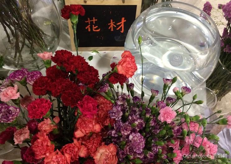 6平米小型时尚花店花样盆栽装修效果图