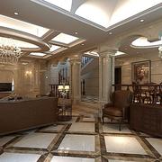 豪华的客厅设计图