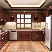 欧式风格厨房装修飘窗图