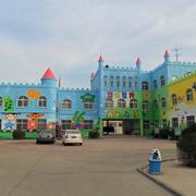 幼儿园手绘墙装修整体图