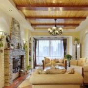 复式楼客厅装修实例