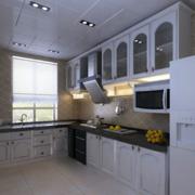 厨房设计装修吊灯图