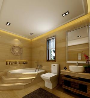 让人一见钟情的现代卫生间设计装修效果图欣赏