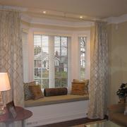 客厅飘窗装修整体图