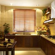 东南亚风格厨房装修飘窗图