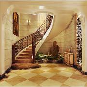 欧式风格楼梯装修背景墙图