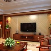 中式家装电视背景墙效果图