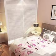 卧室背景墙装修衣柜图