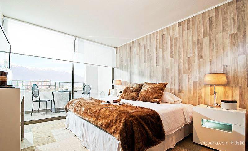 卧室壁纸装修风格效果图