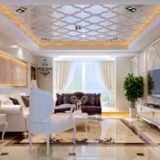 客厅吊顶装修灯光设计
