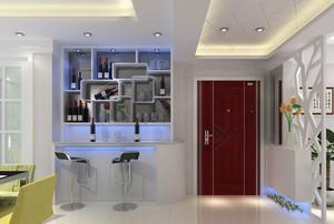 2015现代欧式客厅吧台装修效果图