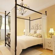 卧室背景墙装修造型图
