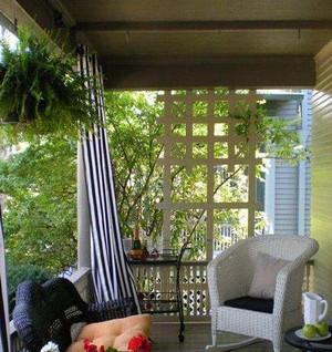 2015单身公寓潮流入户花园装修效果图