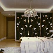 卧室背景墙装修整体图